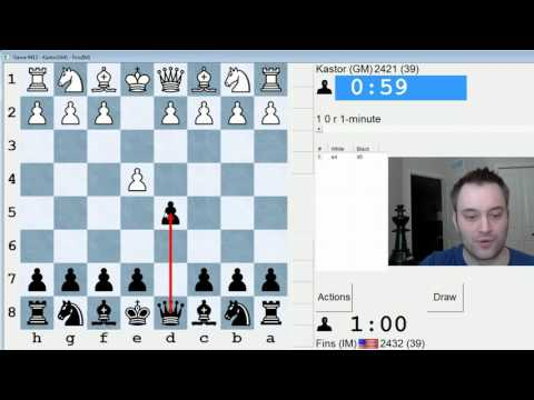 Bullet Chess #199: 14 games in the ICC 1-minute pool