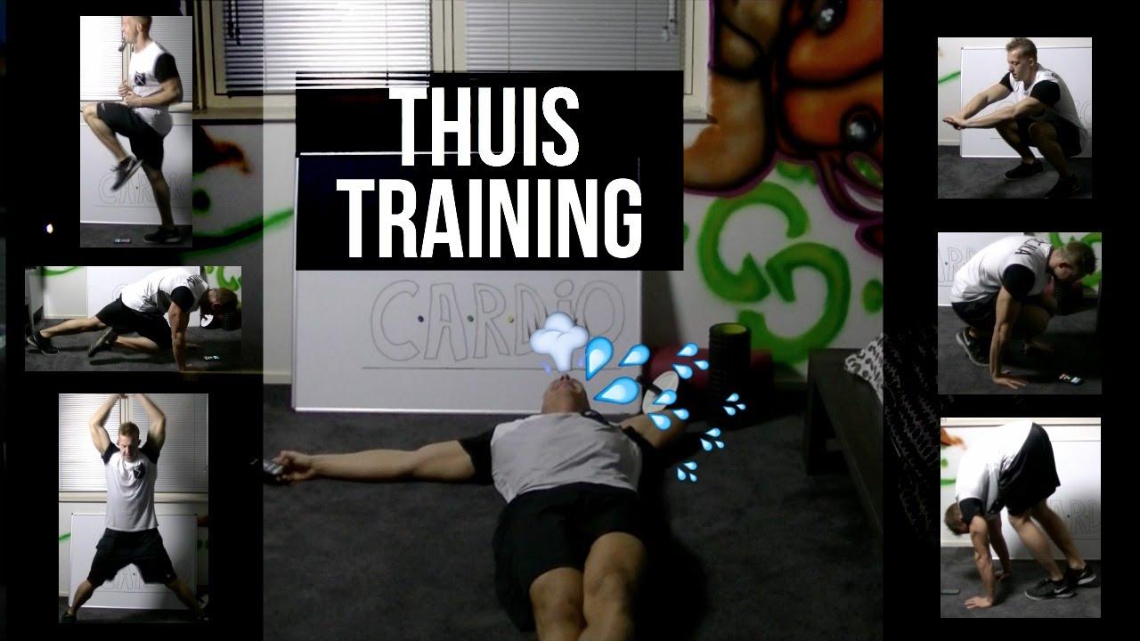Genoeg Cardio Thuis Training Voor Conditie & Vetverbranding - YouTube &IJ95