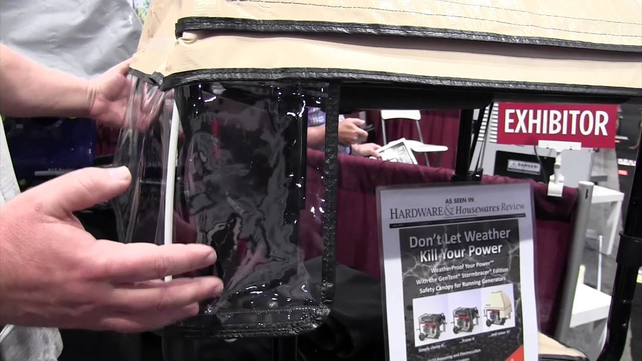 GenTentUSA Generator All Weather Safety Canopy By The Weekend