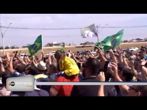 Candidato a Presidência da República, Jair Bolsonaro, do PSL, esteve em Rio Preto