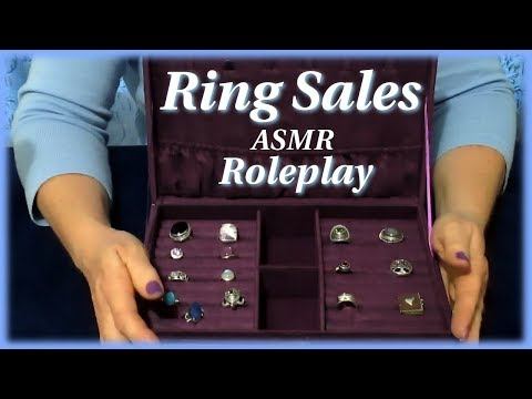 In Home Ring Sales ASMR Jewelry Role Play