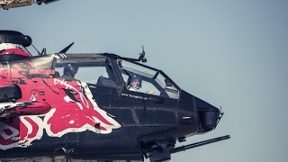 Craig Lowndes joins the Red Bull Flying Bulls in a Bell AH-1 Cobra