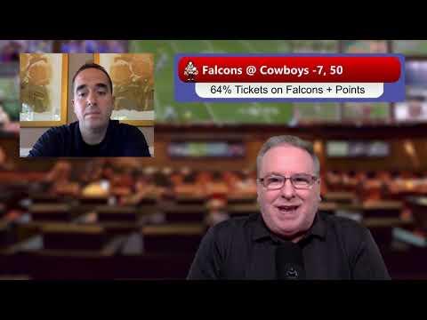 Atlanta Falcons vs. Dallas Cowboys 9/20/20 NFL Picks, Predictions, Betting Tips, Week 2