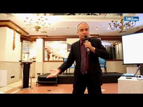 Niranjan De Silva at the Sunday Times Business Club