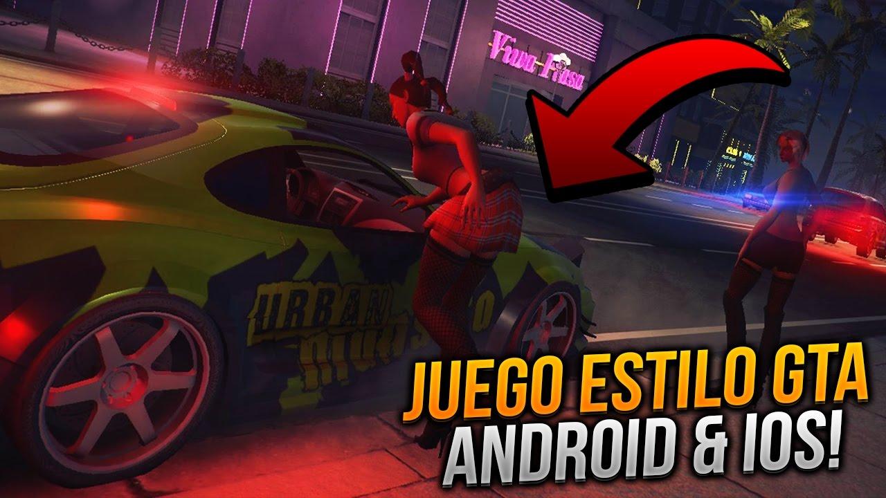 Descarga Juego Con Gŕaficos Increibles Estilo Gta 5 Para Android