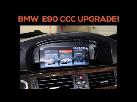 BMW Android Head Unit Upgrade For E90 CCC!