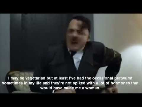 Hitler is Informed of Odd Facts About Him