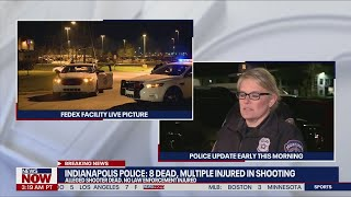 Indianapolis police say 8 dead, 'multiple' injured in shooting at FedEx facility   NewsNOW from FOX