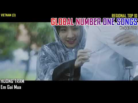 GLOBAL NUMBER ONE SONGS (week 41 / 2017)