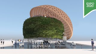 Step inside the Slovenia Pavilion at Expo 2020