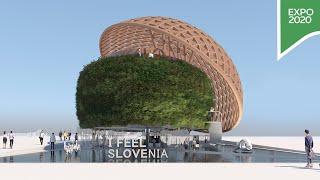 Step inside the Slovenia Pavilion