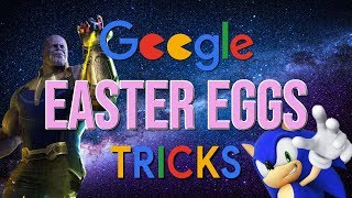 Google Easter Eggs and Fun Tricks You Should See! 2019
