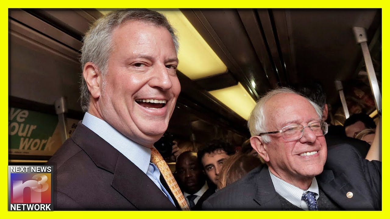 NYC Commie Mayor Bill de Blasio Announces 2020 Endorsement
