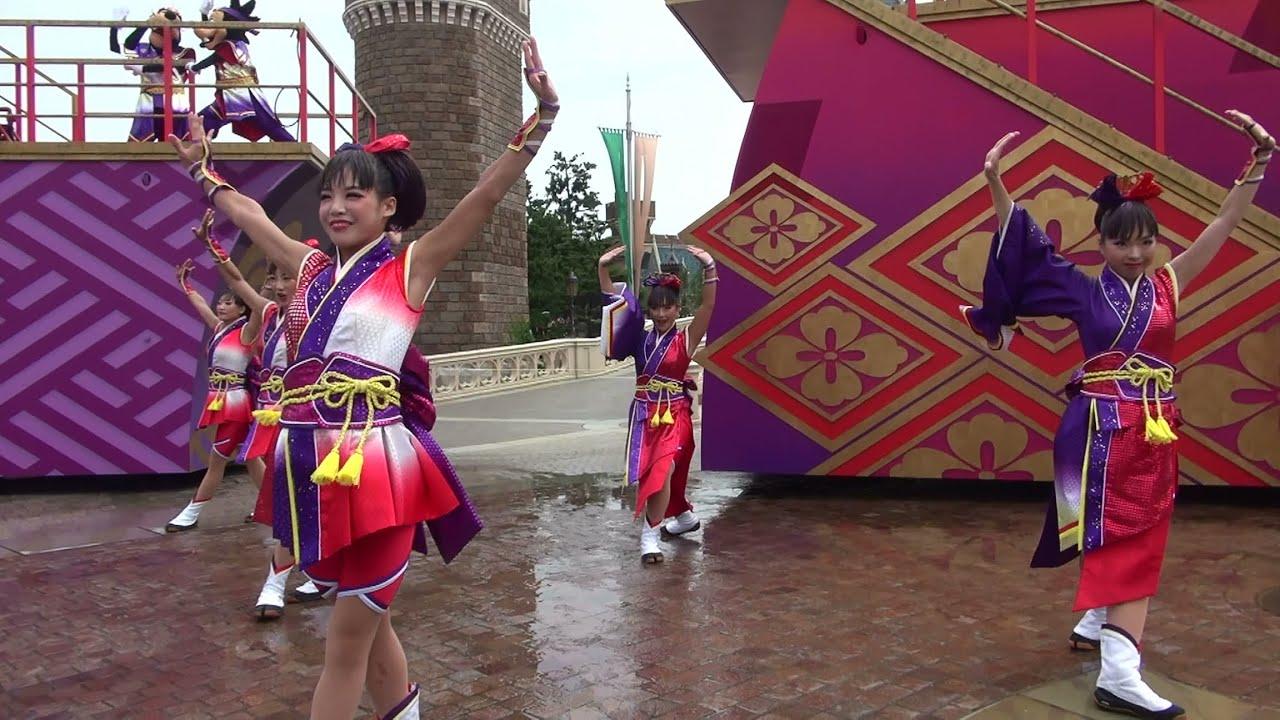 tdl ディズニー夏祭り2014 雅涼群舞 ダンサー (20140.8.13 2回目