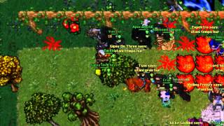 Tibia Titania War - Extinct vs Sixth Cell [MASSACRE] [HD] [VT REC]