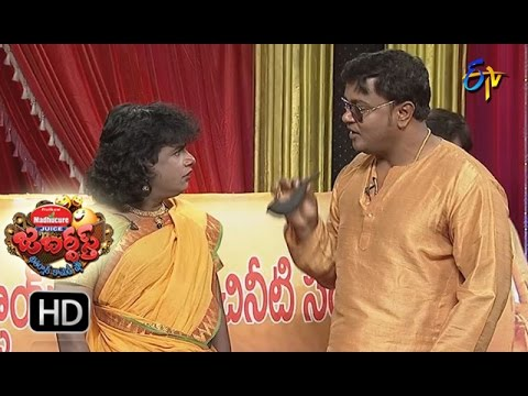 BulletBhaskarSunamiSudhakarPerformance | Jabardsth | 4th May 2017 | ETV  Telugu