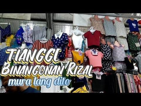 Vlog #21 nag tiangge sa binangonan rizal mura lang dito.