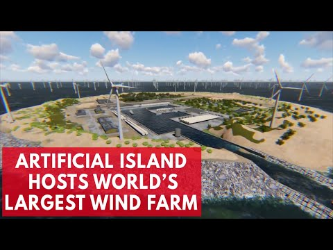 The Dutch plan to build world's largest wind farm in the middle of the North Sea
