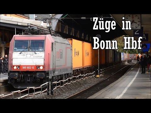 Züge in Bonn Hauptbahnhof, October 2015