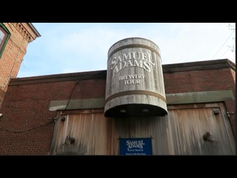 SAM ADAMS BREWERY TOUR IN BOSTON, MA