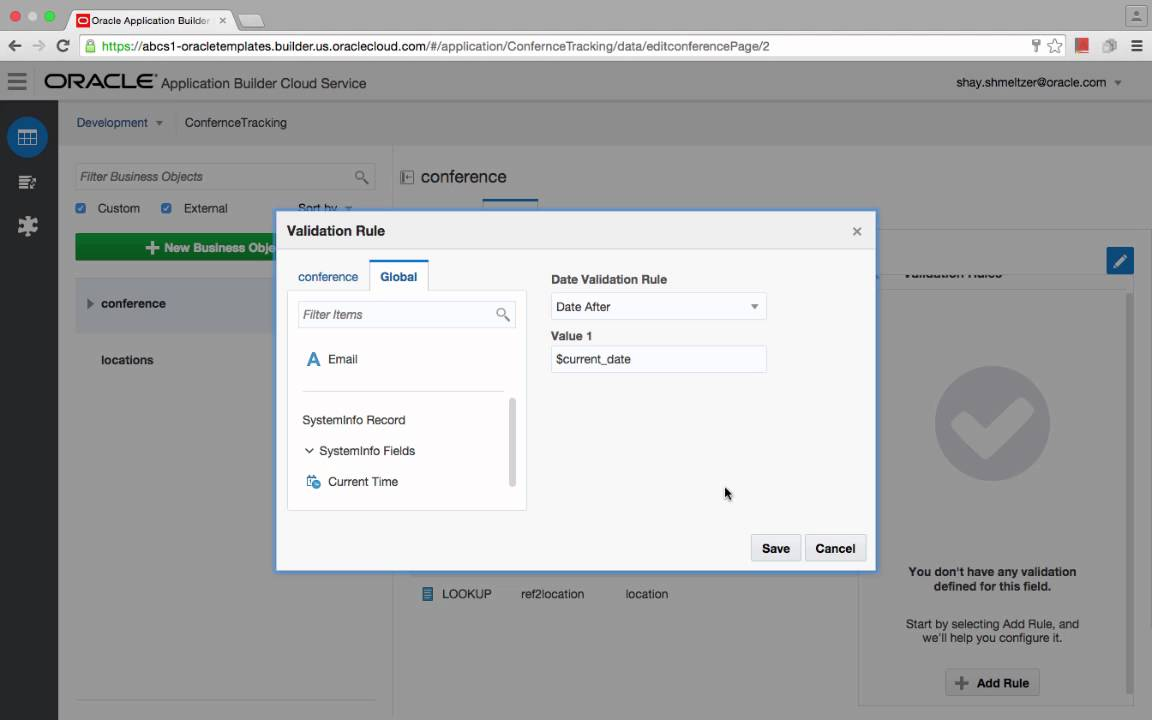 Customizing Oracle Application Builder Cloud Service - DZone