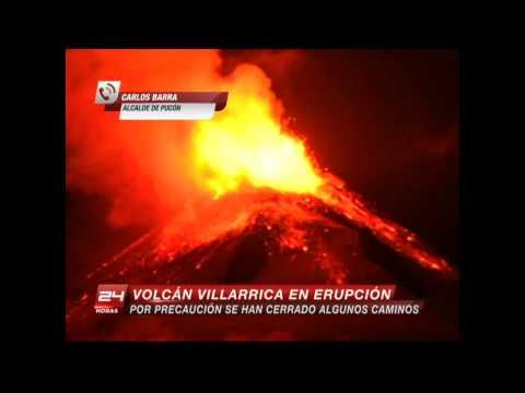 Imperdibles: Volcán Villarrica entra en erupción | Buenos días a todos