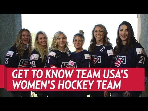 Get To Know the Olympic Gold Medal Winning Women's Hockey Team