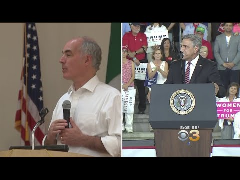 Bob Casey, Lou Barletta Make Their Final Pitch To Voters