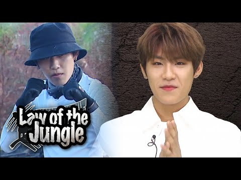 Park Woo Jin Is Always Enthusiastic And Humorous! [Law Of The Jungle Ep 363]