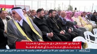 البارزاني:اتفاق بعدم مس خط الدفاع الأول قبل معركة الموصل