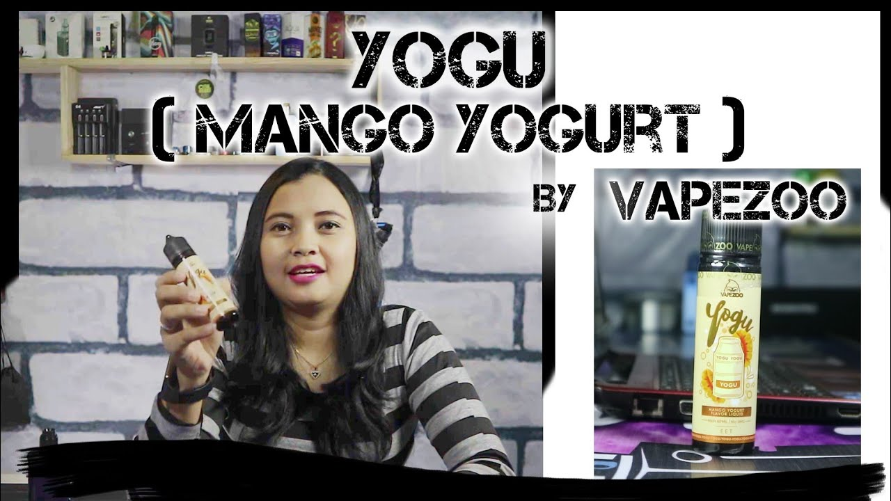Review Liquid Yogu Mango Yogurt By Vapezoo Youtube