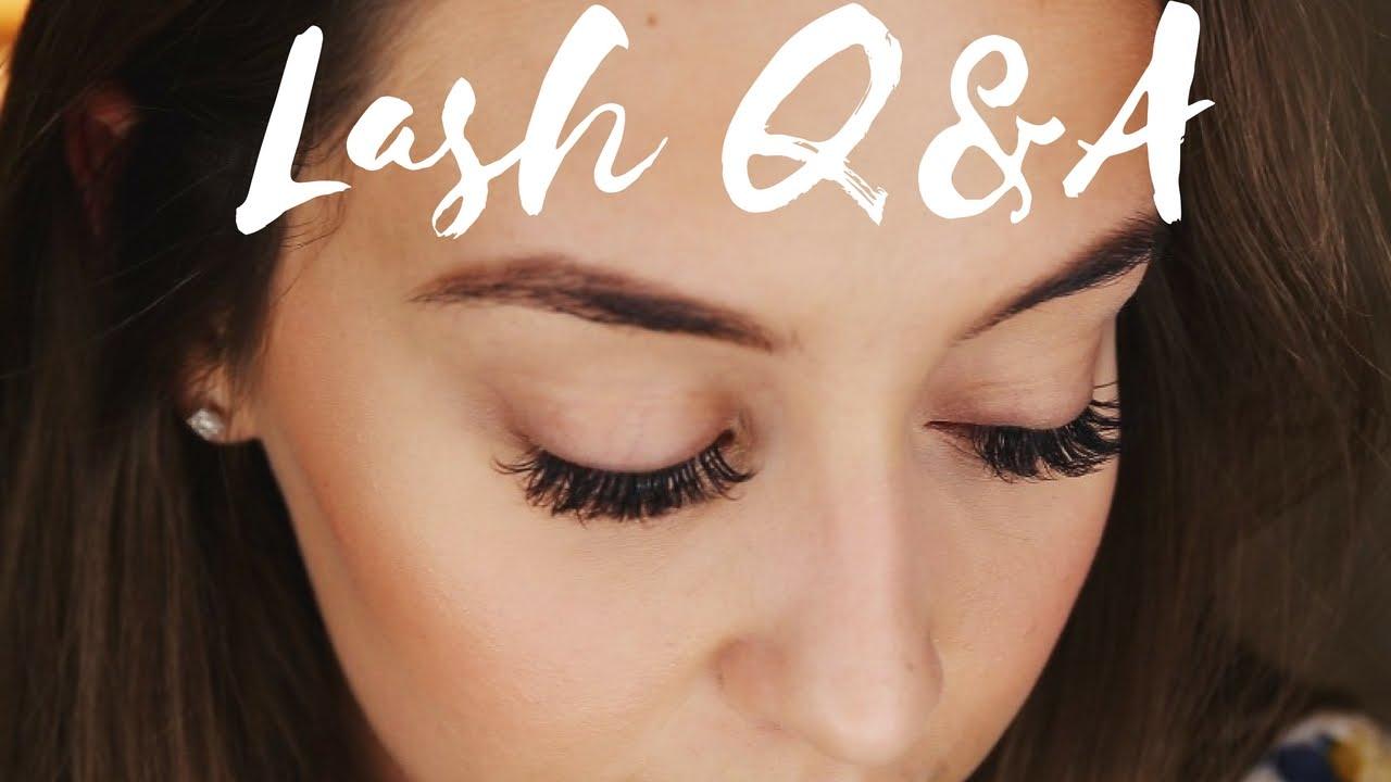 Eyelash Extensions Experience Price Damage Etc Youtube