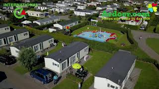 Ardoer camping International vanuit de lucht