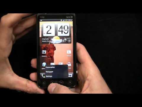 HTC EVO 3D Ice Cream Sandwich Walkthrough