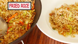 Fried Rice Recipe | Egg Fried Rice | How to make Egg Fried Rice | Sunday Recipes |