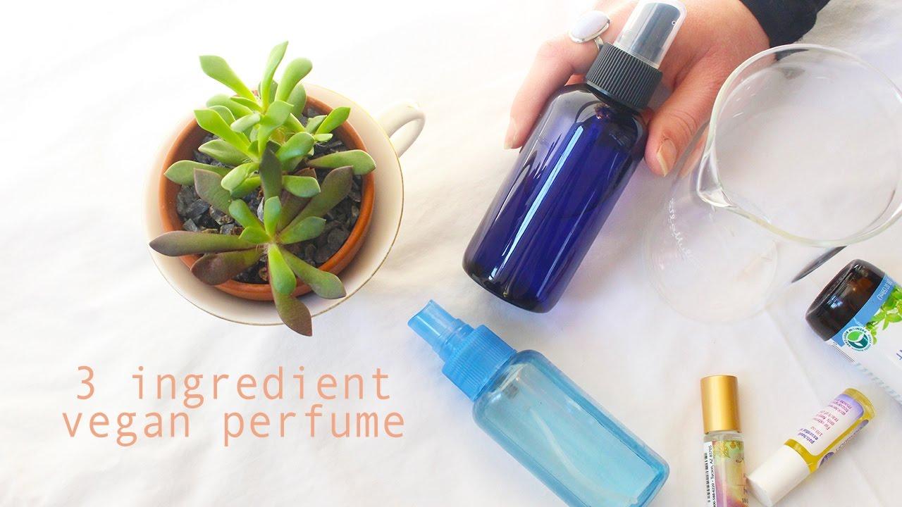 DIY ESSENTIAL OIL PERFUME/BODY SPRAY (vegan cruelty free) || vlog 015