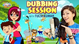 Tulsi Kumar - Dubbing Session | Tia and Tofu - Storytelling || Animation Dubbing By Tulsi Kumar