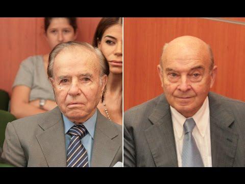 Condenan a Menem y Cavallo en un juicio por pago de sobresueldos