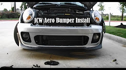 R56 Mini Cooper S Build Part 2 -Getting JCW bumper Back from Paint & The Install