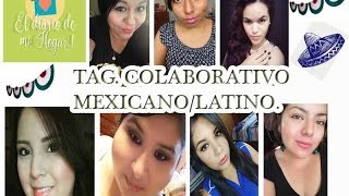 Tag Mexicana-Latina || Colaboración || DanhyVlog