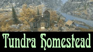 Skyrim SE, Tundra Homestead Creation Club Player Home Review