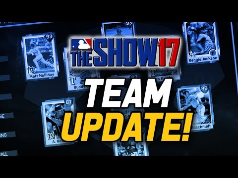 LINEUP UPDATE! 10 DIAMONDS! - MLB The Show 17 Diamond Dynasty