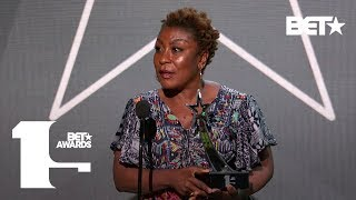 Burna Boy's Mom Accepts His Award For Best International Act Win! | Bet Awards 2019