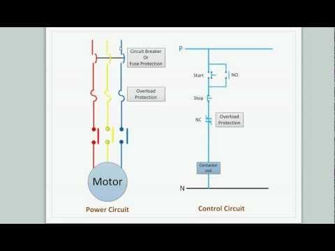 Direct Online Motor Starter Wiring Diagram - free download wiring ...