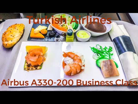 Turkish Airlines Business Class | Airbus A330-200 | Istanbul - Tashkent | TK370