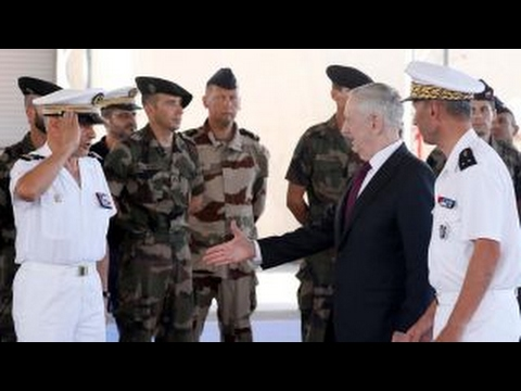 Defense Sec. Mattis visits US military base in Africa