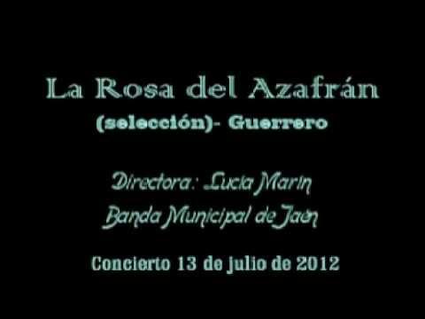 LA ROSA DEL AZAFRÁN - Banda Municipal de Jaén - Directora Lucía Marín