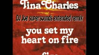 Tina Charles - You Set My Heart On Fire - (DJ Joe supersounds extended mix)