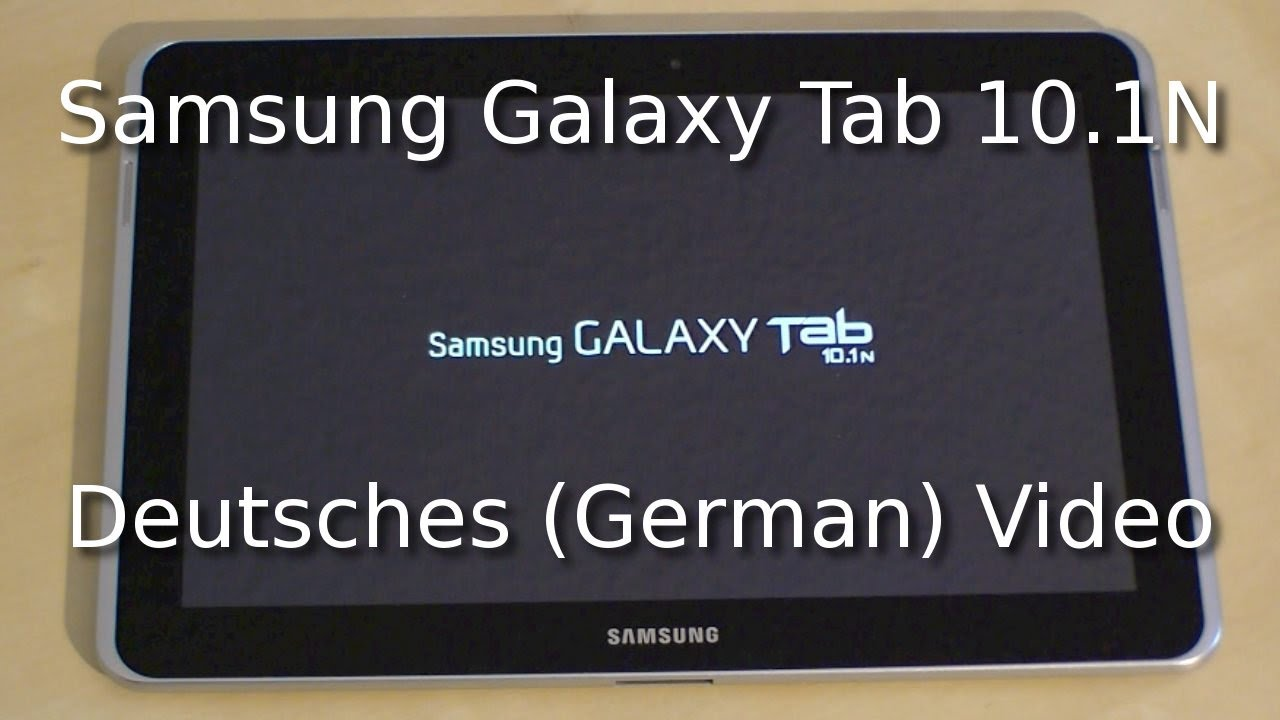 Samsung Galaxy Tab A Sim Karte Einlegen.Samsung Galaxy Tab 10 1n Review Deutsch German