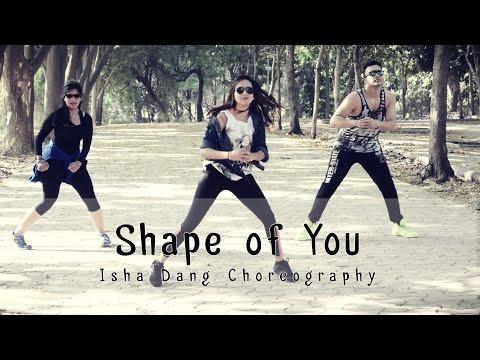 Ed Sheeran – Shape of You | Zumba Choreography by Isha Dang | Dancefit Live